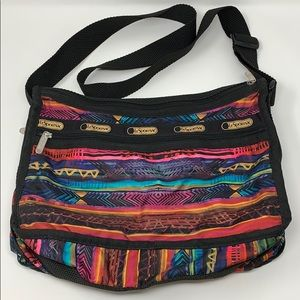 LeSportsac Deluxe Everyday Bag Multicolor Aztec